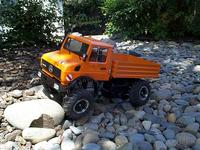 Name: DCP01218.jpg Views: 476 Size: 133.4 KB Description: It crawls pretty good for a scale truck but is really top heavy.