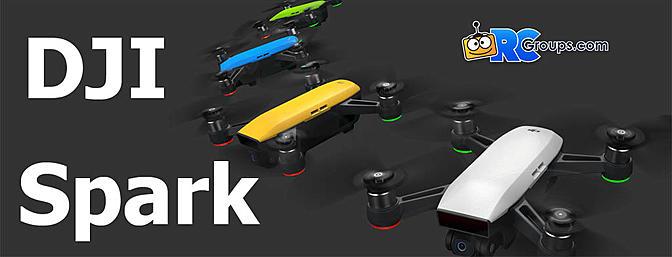 DJI Announces Spark Selfie Drone