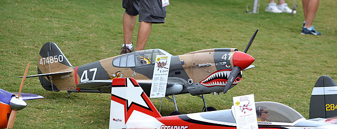 Hobbico's impressive Warbirds were a sight to see