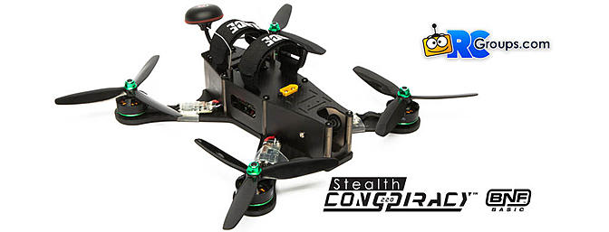 Limited Edition Stealth Conspiracy 220 FPV