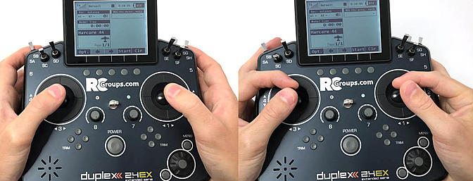 How Do You Control the Sticks - Pinch or Thumbs Only?