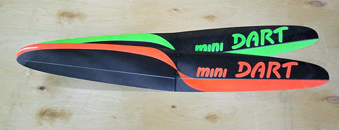 Hot new colors and trim scheme on the Min Dart
