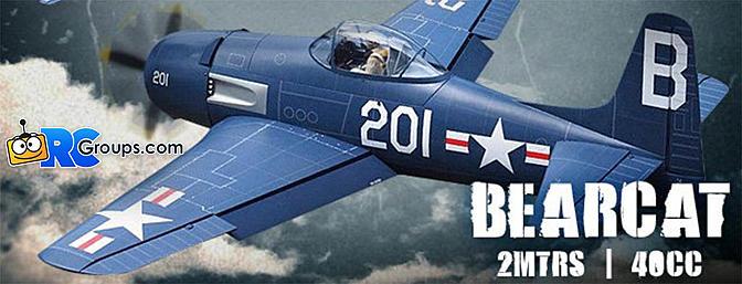 HobbyKing F8F Bearcat ARF