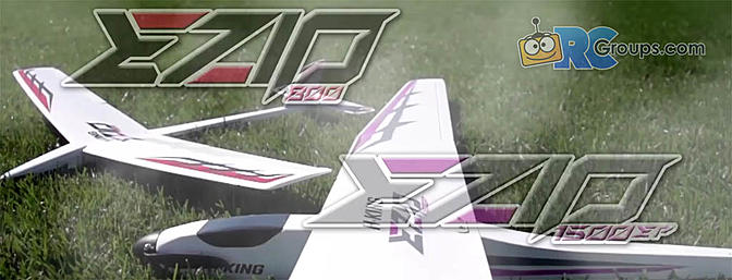 New Ezio Electric Sailplanes from HobbyKing