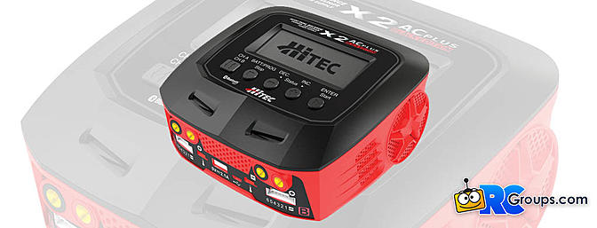 Hitec X2 AC Plus Black Edition Charger / Discharger