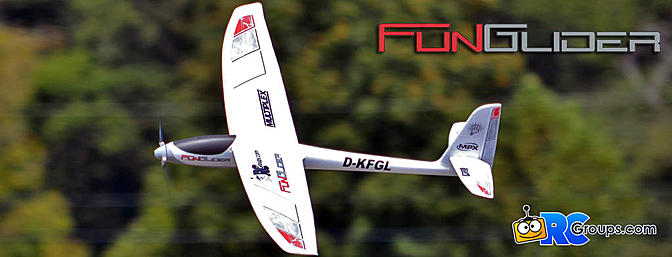 Multiplex FunGlider Electric Sailplane Review