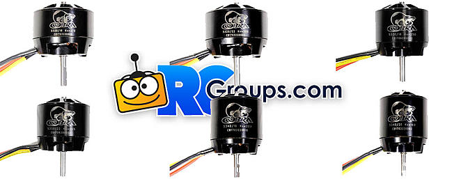 NEW Cobra 53mm Series Motors!