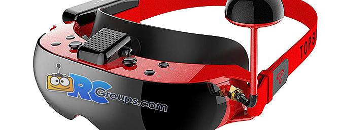 TopSky F7X 3D FPV Goggles