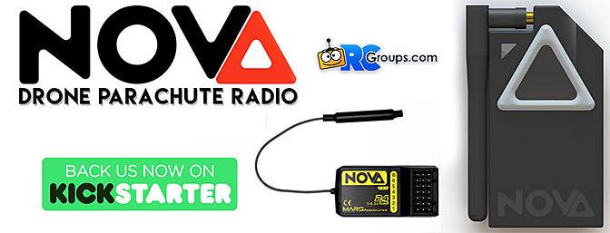 Mars NOVA - Drone Parachute Radio