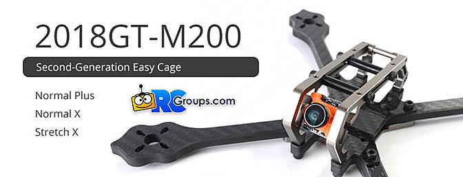 Diatone Has a New Drone Racing Frame Coming Soon - 2018GT-M200