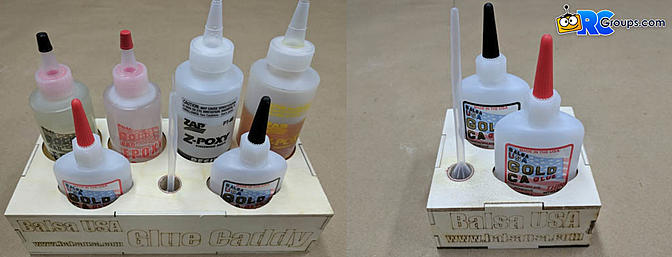 Balsa USA Glue Caddies