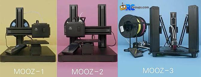 Mooz 3D Printer, CNC and Laser Engraver