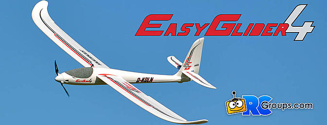 Multiplex EasyGlider 4 Electric Sailplane Review