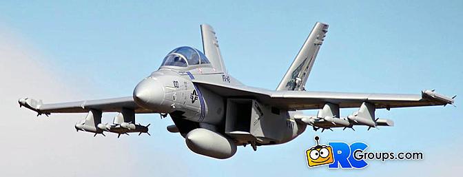Horizon Hobby FMS F-18F Super Hornet PNP