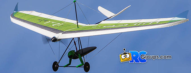 Punkair Wilco 1.3 RC Hang Glider Review