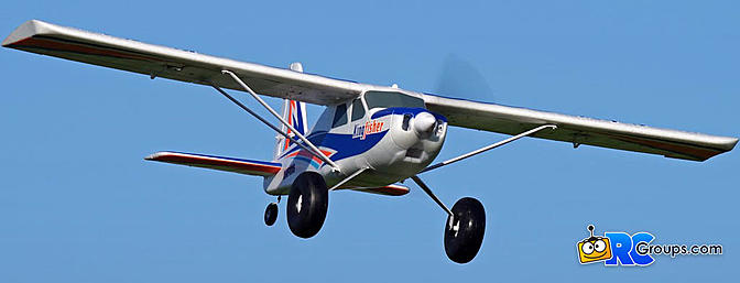 FMS Kingfisher 1400mm STOL Airplane