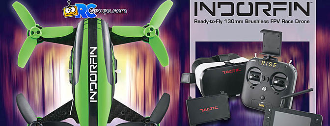 RISE INDORFIN 130 Brushless FPV Race Pack