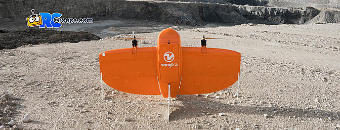 Wingtra One PPK VTOL for Aerial Mapping