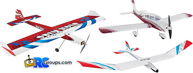 Three New Planes from Tower Hobbies