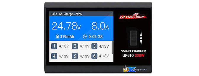 Ultra Power UP610 200W 10A DC Lipo Battery Charger