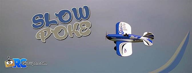 Durafly SlowPoke Classic Airplane