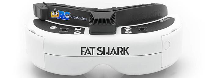 Fatshark Dominator HDO OLED FPV Goggles