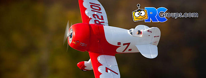 E-flite UMX Gee Bee R-2 BNF Basic with AS3X and SAFE