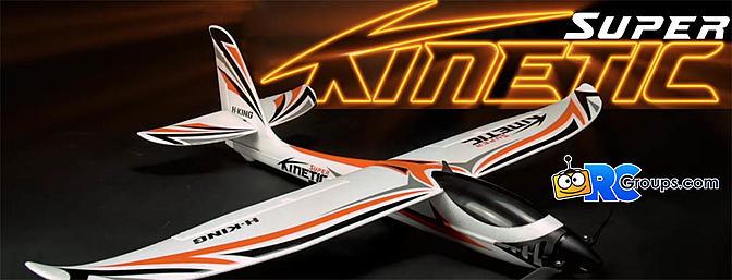 HobbyKing Super Kinetic Sport Glider