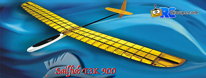 ICARE Sailfish 1M F3K Sailplane