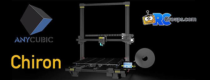 New AnyCubic Chiron Large Volume 3D Printer
