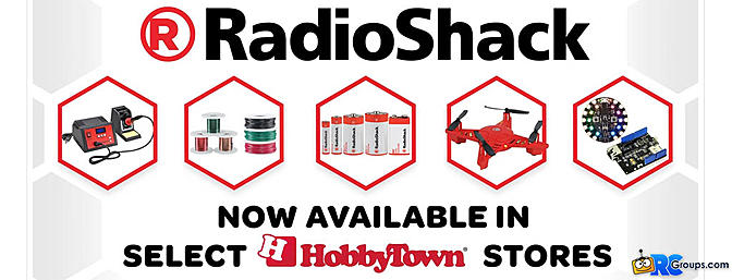 RadioShack Makes a Comeback with HobbyTown USA
