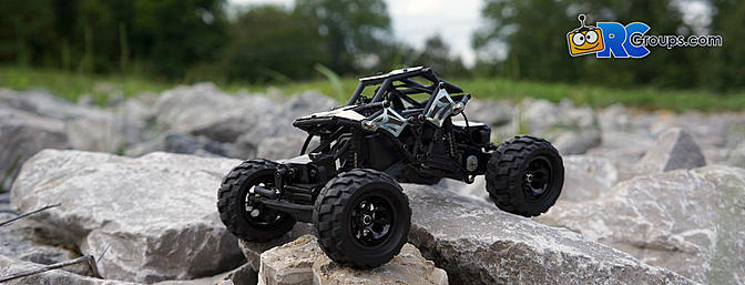 Basher RockSta 1/24 4WS Mini Rock Crawler Review