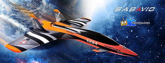 KR84 Tortuga Robodrone Pusher Jet