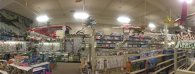 12,000 Sq Ft of Hobby Fun