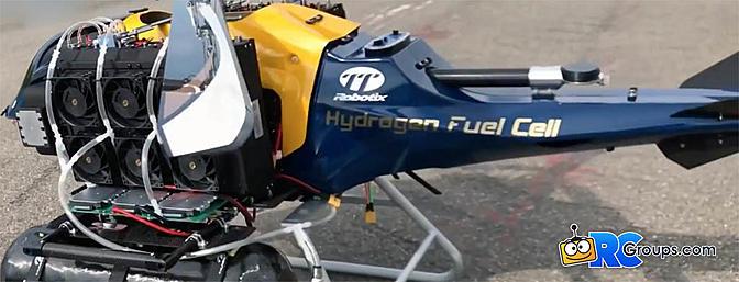 Thunder Tiger Robotix HXC2 Jupiter Fuel Cell