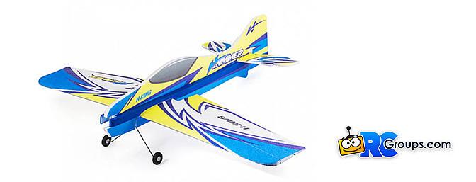 H-King Hummer Xtreme 3D EPP Aerobatic Profile Plane