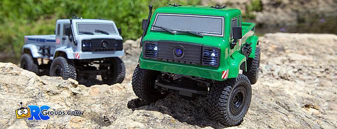 ECX 1/24 Barrage UV 4WD Scaler Crawler RTR FPV