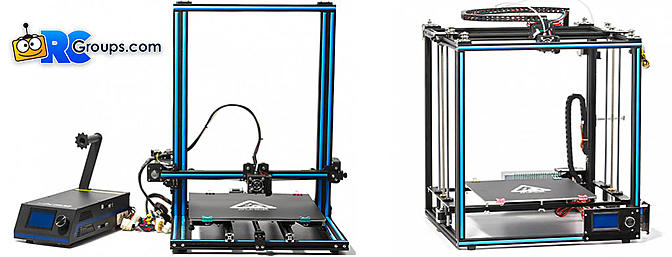 New 3D Printers from HobbyKing - X3S and X5S