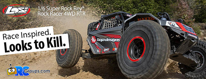 Losi 1/6 Super Rock Rey 4WD
