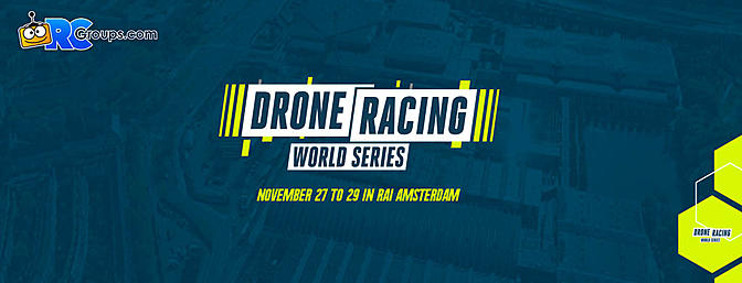 Amsterdam Drone Week - Drone Racing World Series