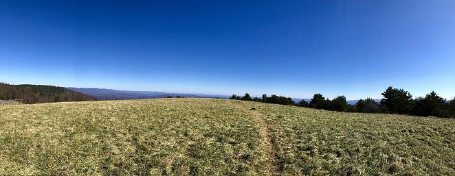 The Lump is a large hill off the Blue Ridge Parkway in North Carolina