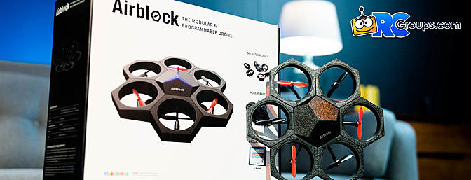 Airblock Modular Programmable Drone for Kids
