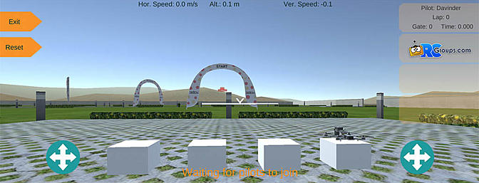 Drone Racing Simulator for Android Devices