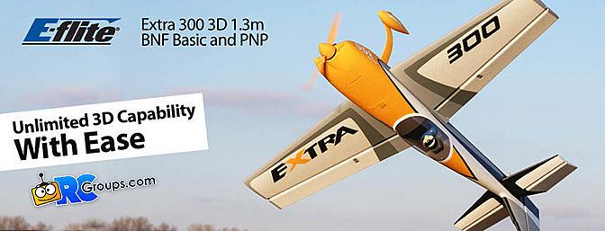 E-flite Extra 300 3D 1.3m