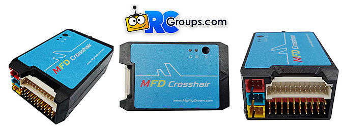 MyFlyDream Crosshair Autopilot with Color OSD