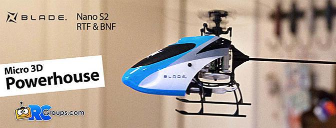Blade Nano S2 RTF and BNF