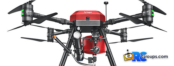FlyDragon Fire Fighting Drone