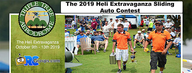 The 2019 Heli Extravaganza Sliding Auto Contest