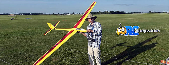 Guy Russo Builds NOS Class Maestro Megan Sailplane at the NATS