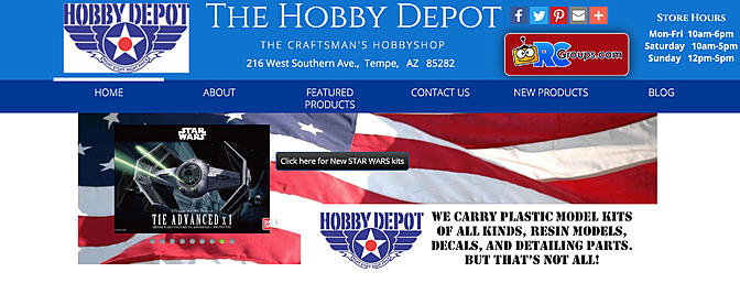 RCGroups Place of the Month - The Hobby Depot
